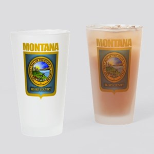 Montana Seal (back) Drinking Glass