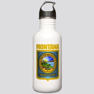 Montana Seal (back) Stainless Water Bottle 1.0L