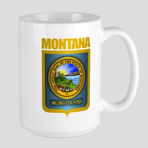 Montana Seal (back) Large Mug