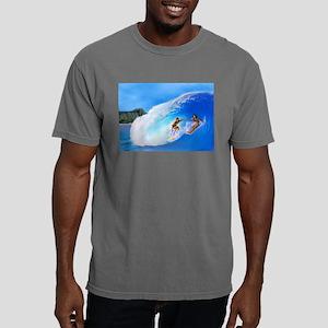 SURFING OAHU Mens Comfort Colors Shirt
