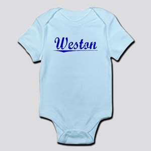 Weston, Blue, Aged Infant Bodysuit