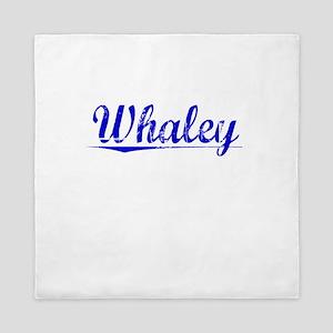 Whaley, Blue, Aged Queen Duvet