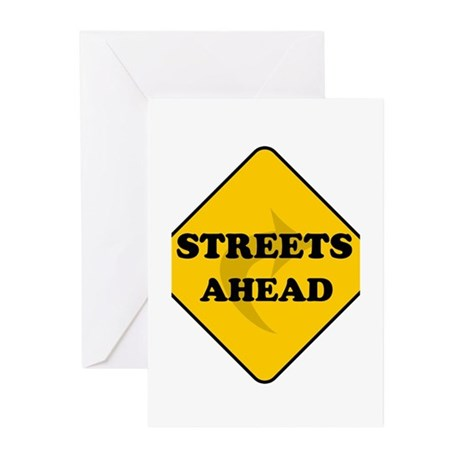 Streets Ahead Greeting Cards (Pk of 10)