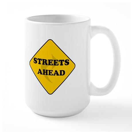 Streets Ahead Large Mug
