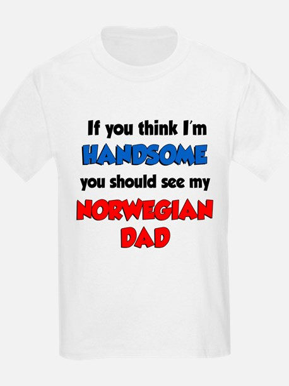 Im Handsome Norwegian Dad T-Shirt