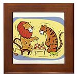 Chess Kids Framed Tile