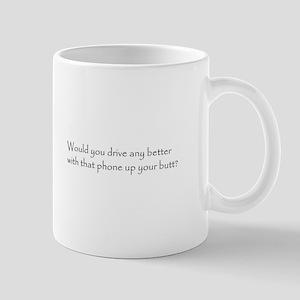 Cell Phone Bumper Sticker Mug