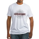 I Survived Hurricane Sandy Fitted T-Shirt