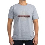 I Survived Hurricane Sandy Men's Fitted T-Shirt (d