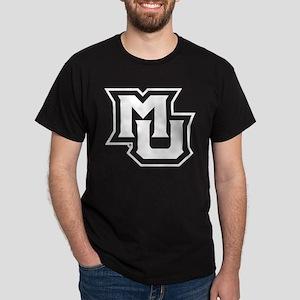 MU Letters Navy Blue Dark T-Shirt