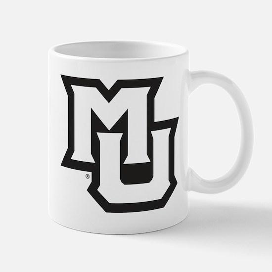 MU Letters Navy Blue Mug