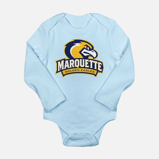 Marquette Eagle Long Sleeve Infant Bodysuit