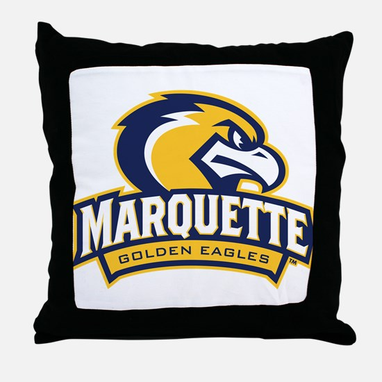 Marquette Eagle Throw Pillow