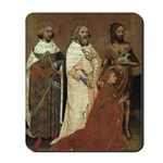 Richard II with his Patron Saints Mousepad