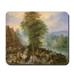 Peasants at Market Mousepad