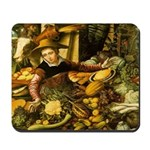Medieval Vegetable Vendor Mousepad