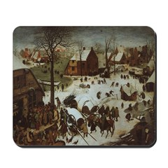 The Village in Winter Mousepad