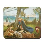 King Arthur in Avalon Mousepad