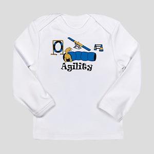 Agility Dog Long Sleeve Infant T-Shirt