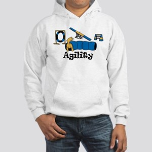 Agility Dog Hooded Sweatshirt