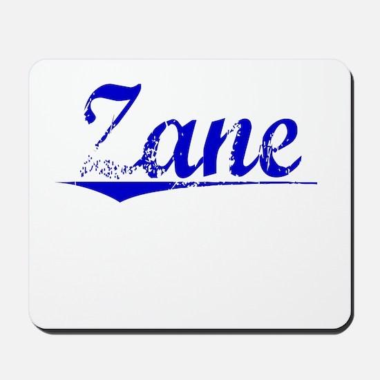 Zane, Blue, Aged Mousepad