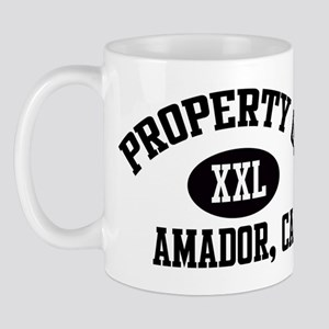 Property of AMADOR Mug