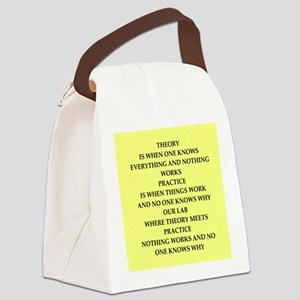theory Canvas Lunch Bag