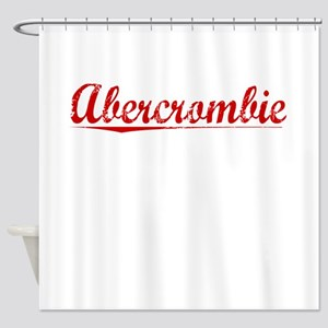 Abercrombie, Vintage Red Shower Curtain
