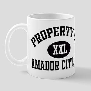 Property of AMADOR CITY Mug