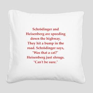 22 Square Canvas Pillow