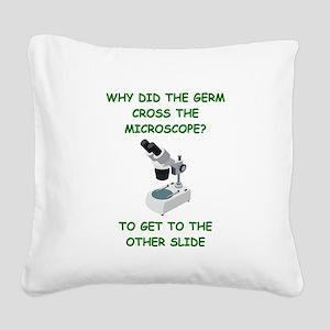 GERM joke Square Canvas Pillow