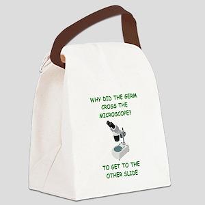 GERM joke Canvas Lunch Bag