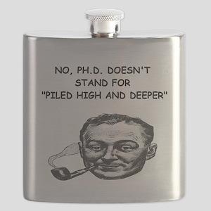 PHD gifts t-shirts Flask