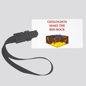 geology gifts Large Luggage Tag
