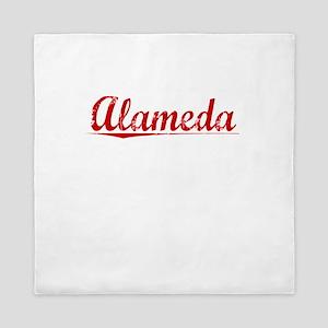 Alameda, Vintage Red Queen Duvet