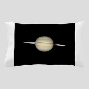 Saturn 4 Moons in Transit Pillow Case