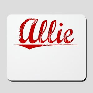 Allie, Vintage Red Mousepad