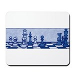 Chess: Study in Blue Mousepad