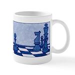 Chess: Study in Blue Mug