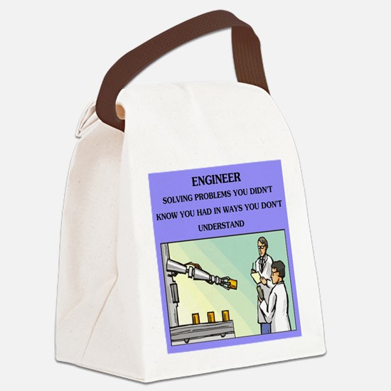 emgineer engineering joke gifts t-shirts Canvas Lu