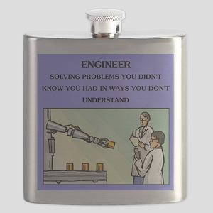 emgineer engineering joke gifts t-shirts Flask