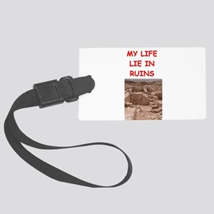 archaeology Large Luggage Tag