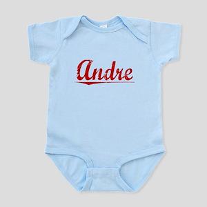 Andre, Vintage Red Infant Bodysuit