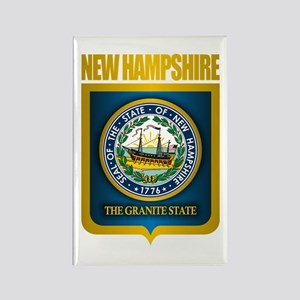 New Hampshire Seal (back) Rectangle Magnet