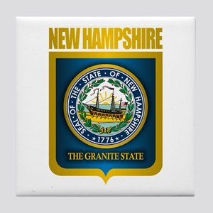 New Hampshire Seal (back) Tile Coaster