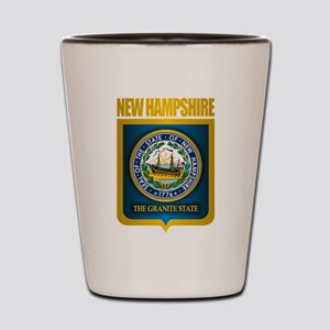New Hampshire Seal (back) Shot Glass