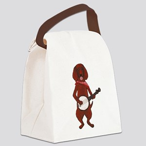 Bloodhound-Cafepress - Copy Canvas Lunch Bag