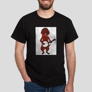 Bloodhound-Cafepress - Copy Dark T-Shirt