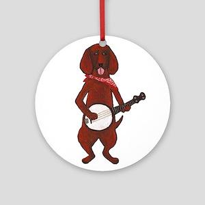 Bloodhound-Cafepress - Copy Ornament (Round)