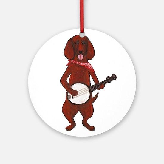 Bloodhound-Cafepress - Copy.jpg Ornament (Round)